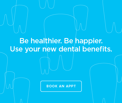 Be Heathier, Be Happier. Use your new dental benefits. - Lacey  Modern Dentistry